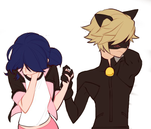 vector_marinette_and_chat_noir_cat_noir__by_kenma12-dacaba7